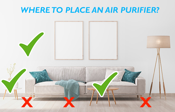 what to plase air purifiers